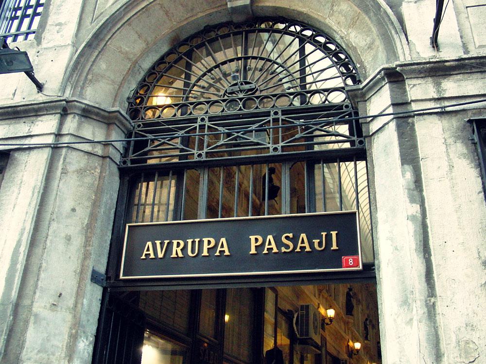 Avrupa Pasajı, Beyoğlu, İstanbul