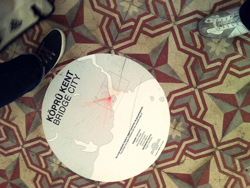 Köprü Kent – Bridge City, Galata Rum İlköğretim Okulu, İstanbul Design Biennial, 2012