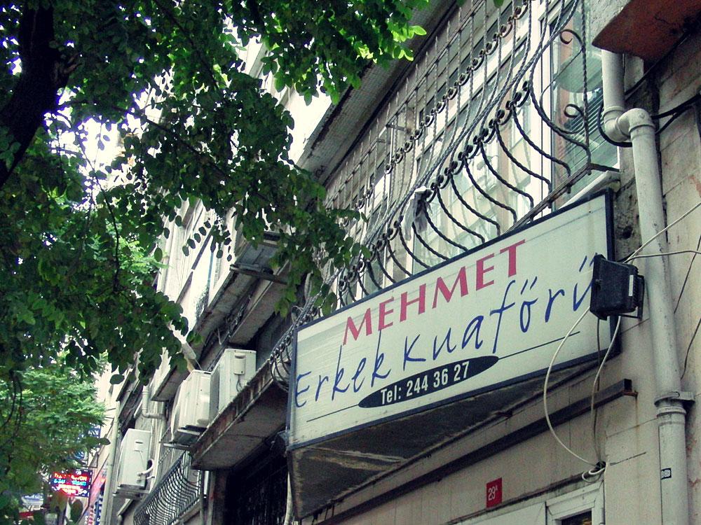 Mehmet Erkek Kuaförü / Herrenfriseur, Cihangir, İstanbul