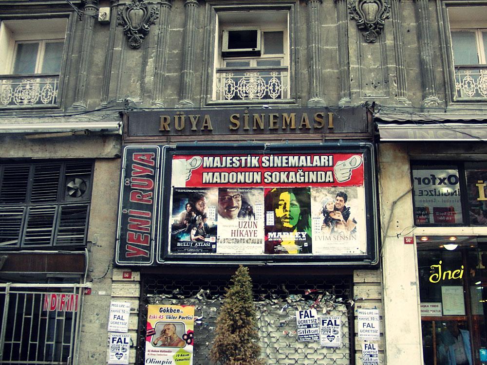 Rüya Sineması / Traum-Kino, Taksim, İstanbul, 2012