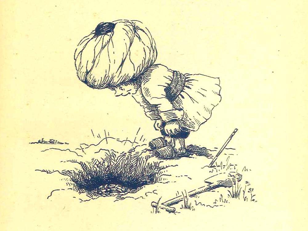 Der Orient im deutschen Kunstmärchen: Der kleine Muck (Illustration von 1944)