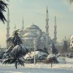 Orient im Schnee: İstanbul