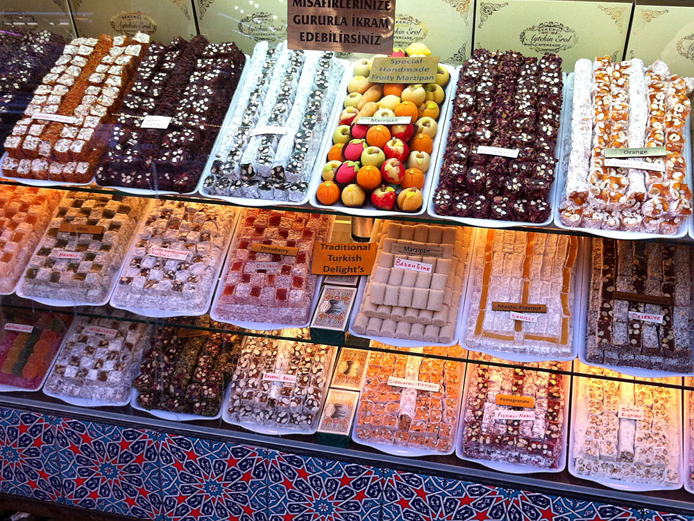Lokkum: Turkish Delight for the curious traveller to the Orient