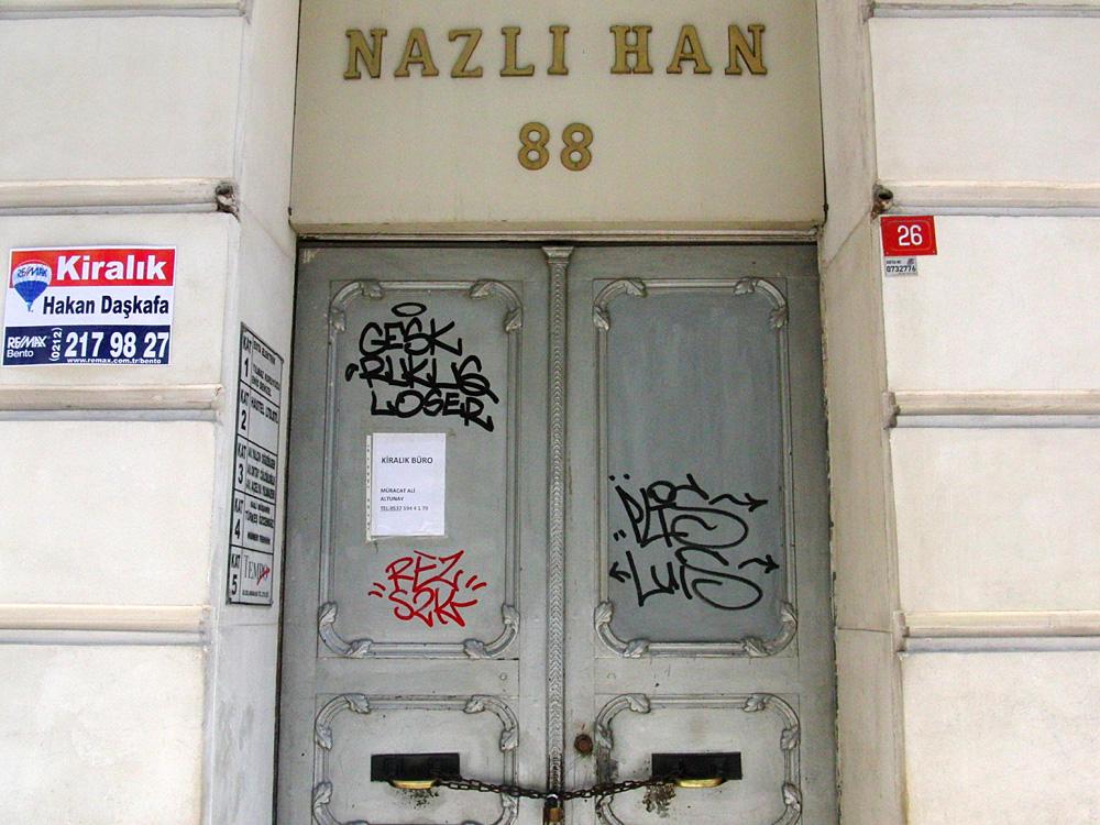 Graffiti, İstanbul 2013
