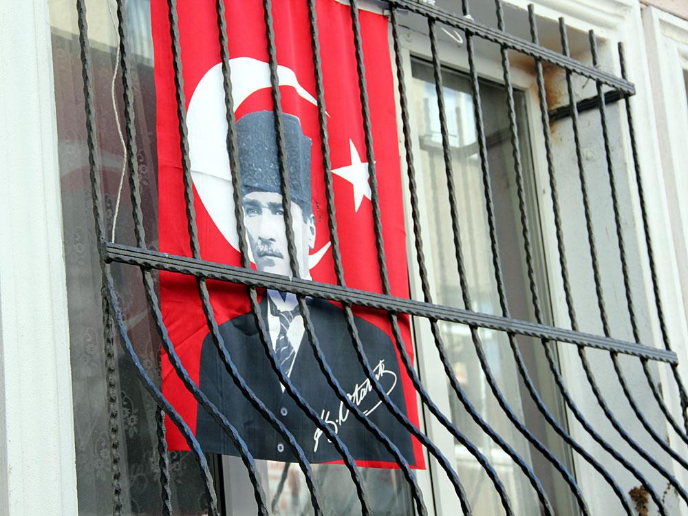 Mustafa Kemal Atatürk, Held der Schlacht von Gallipoli. (Bild: İstanbul 2014)