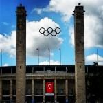 Die türkische Flagge am Berliner Olympiastadion im August 2014 (Foto: Deniz Uzundağ)