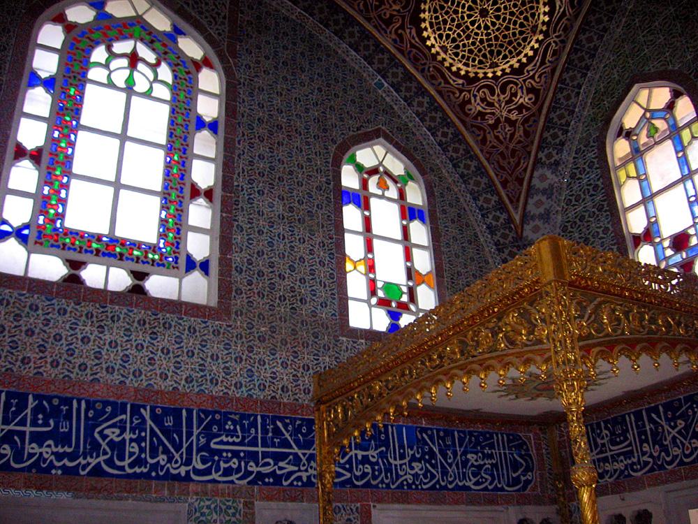 Im Topkapı Sarayı, Sultanspalast, İstanbul, Sultanahmet, 2013