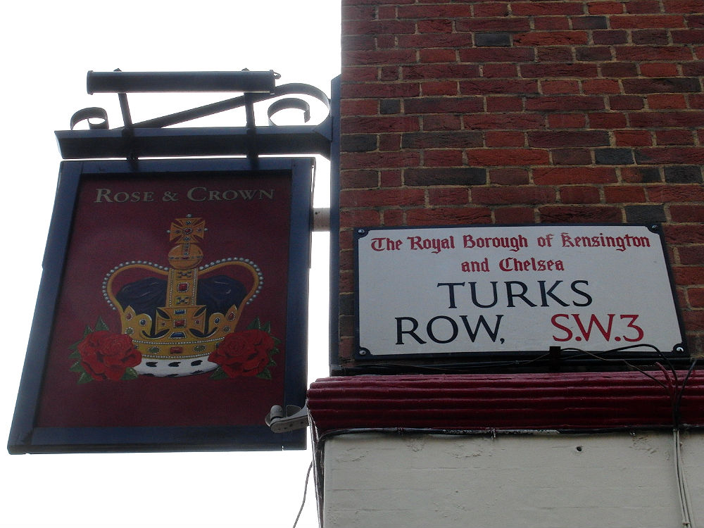 Rose & Crown & Turks im Royal Borough of Kensington and Chelsea, London 2014