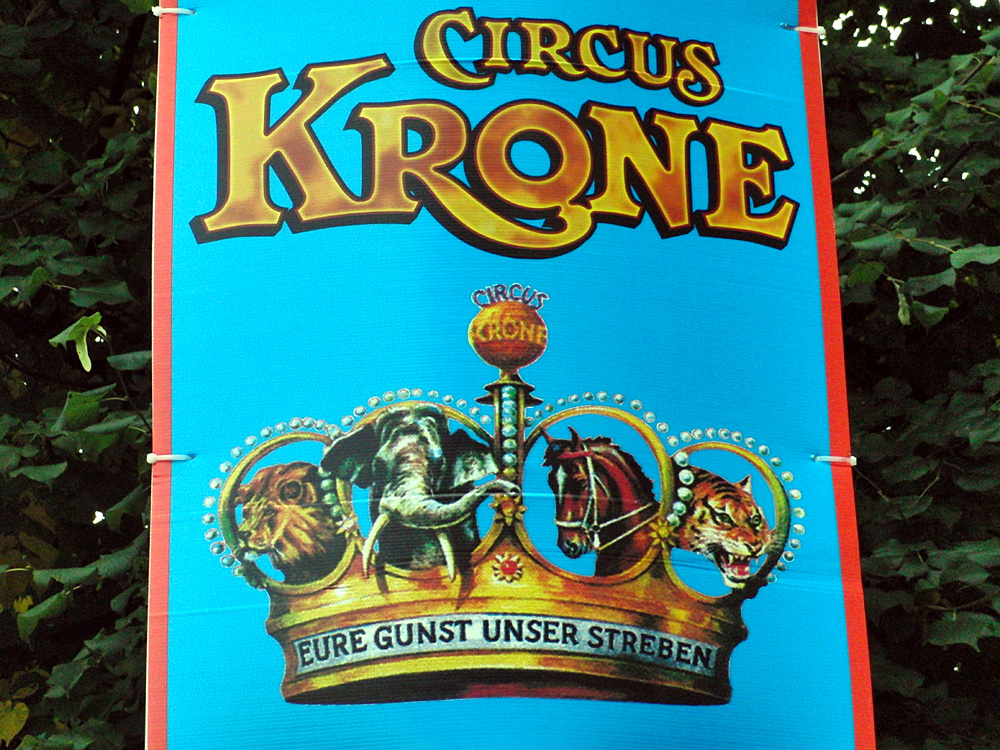 Circus Krone: Eure Gunst Unser Streben