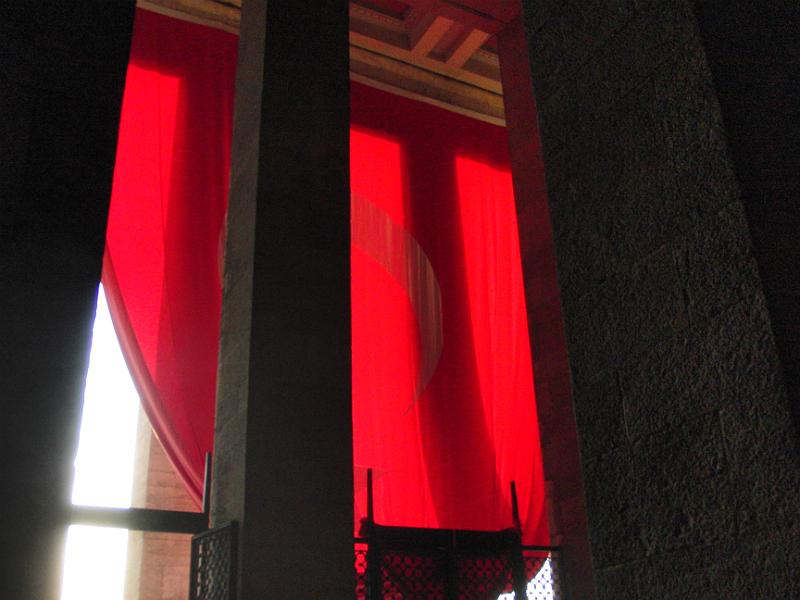Im Anıtkabir, Atatürk-Mausoleum, Ankara