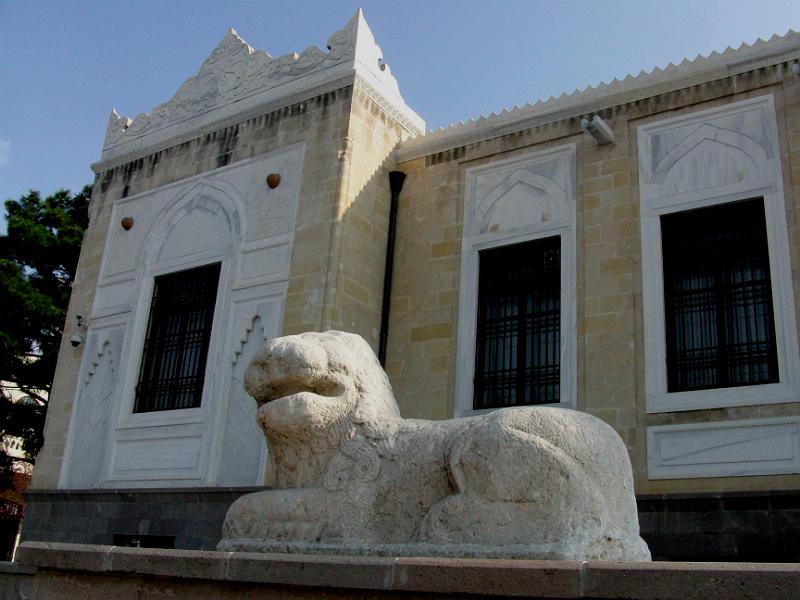 Tierstatue vor dem Ethnographischen Museum Ankara