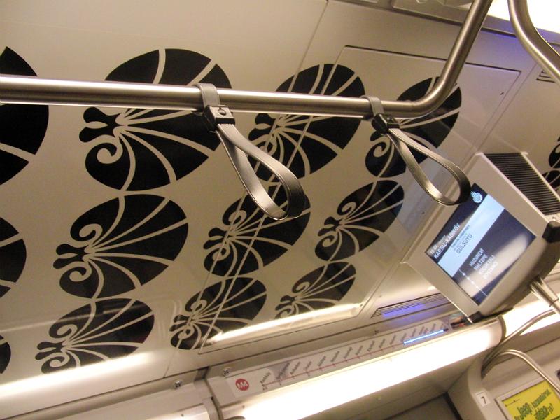 Hübsch dekoriert: Die Decke der Metro von Kartal nach Kadıköy