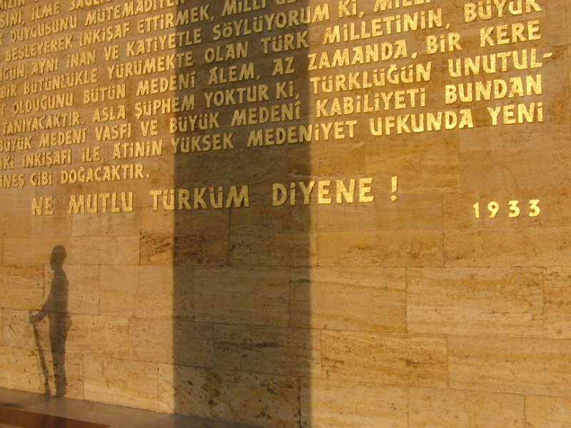 Am Anıtkabir, Atatürk-Mausoleum, Ankara
