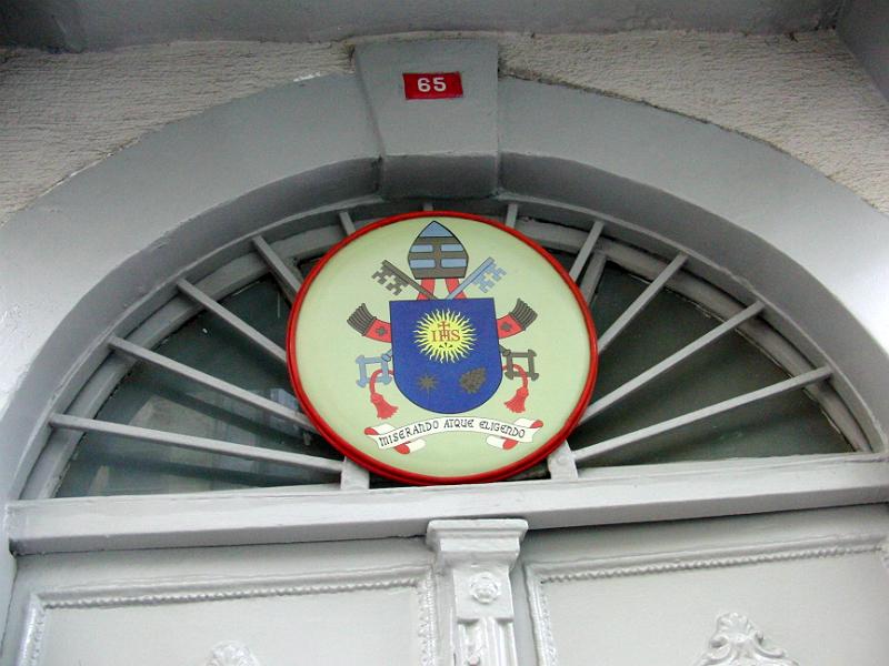 An der Vatikanischen Vertretung Istanbul