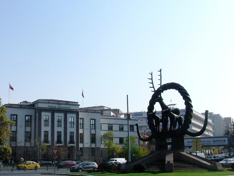 Denkmal für den Angoraziegenbock