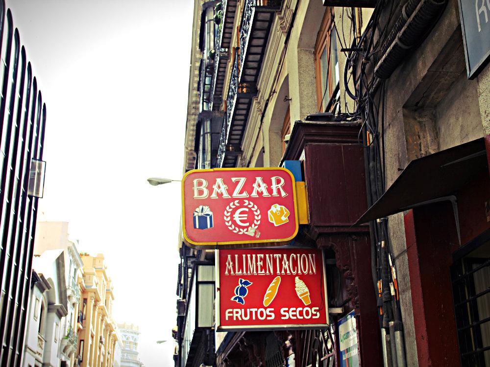 Bazar, Madrid 2015