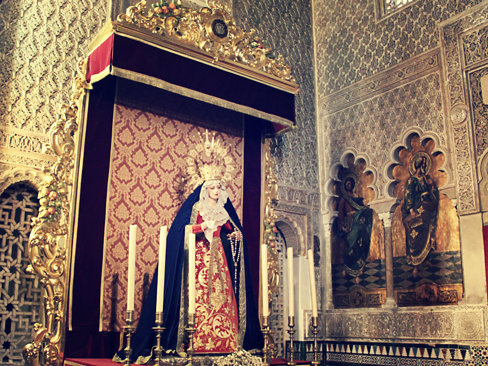 "Kirche im ""Maurischen Stil"" (Mudéjar-Stil), Córdoba, Spanien 2015"