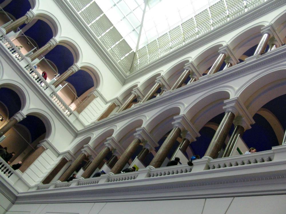 im historischen TU-Hauptgebäude