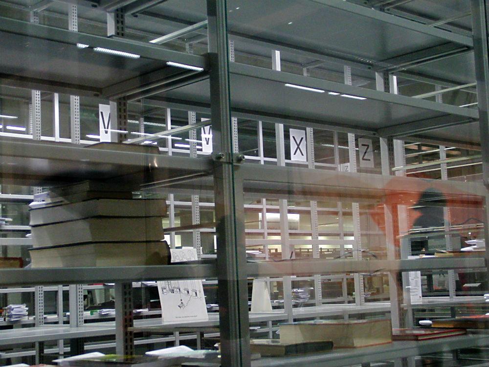 In der TU-Bibliothek: X für ein U