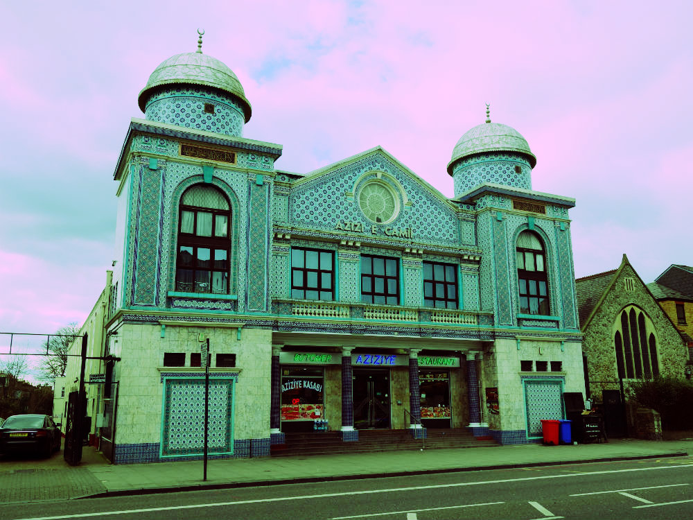 Aziziye-Moschee, London-Stoke Newington