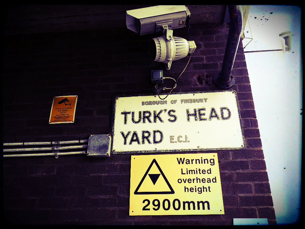Turk's Head Yard, London-Finsbury