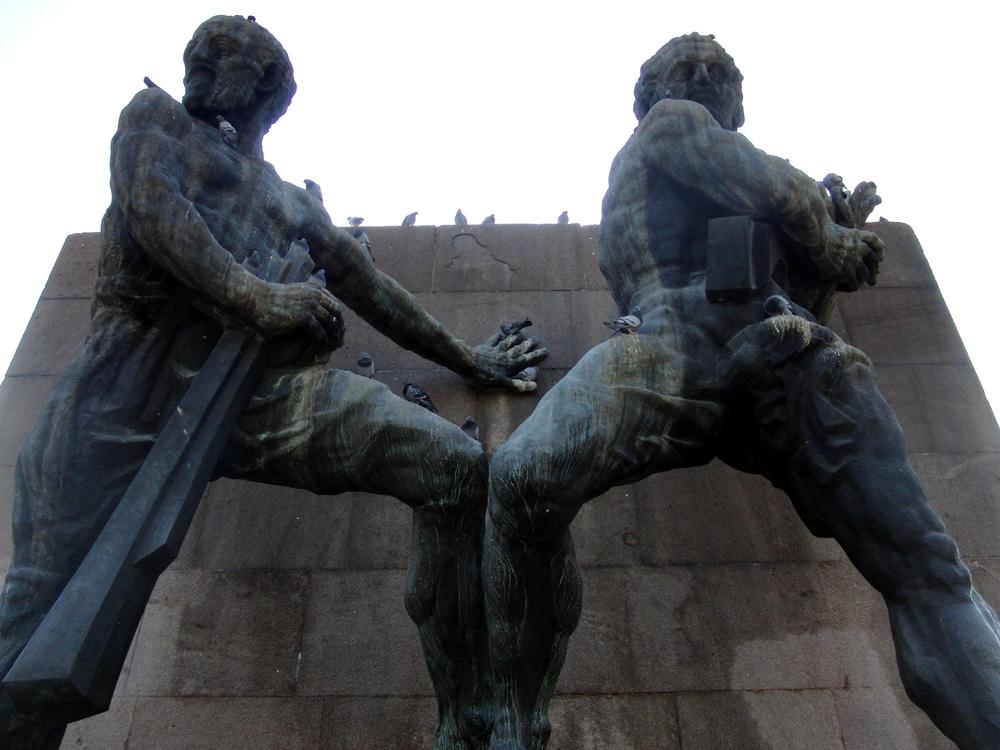 """""""Güvenlik Anıtı"""" (Denkmal der Sicherheit) von Clemens Holzmeister, Anton Hanak und Josef Thorak (Österreich) von 1935"""
