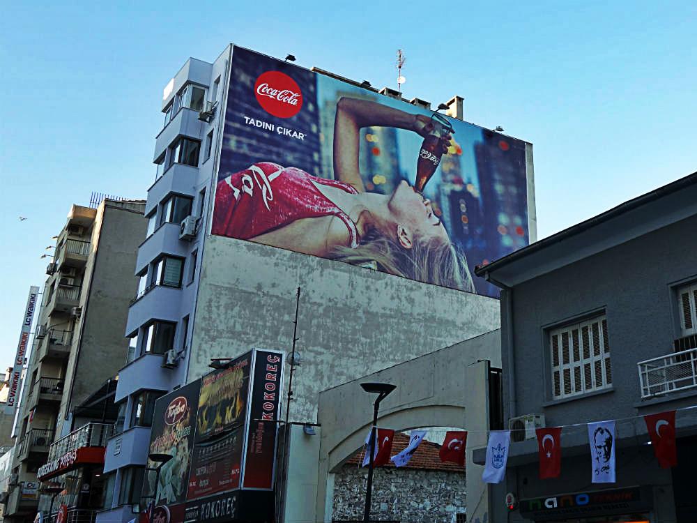 Wimpel und Werbung in İzmir, 2016