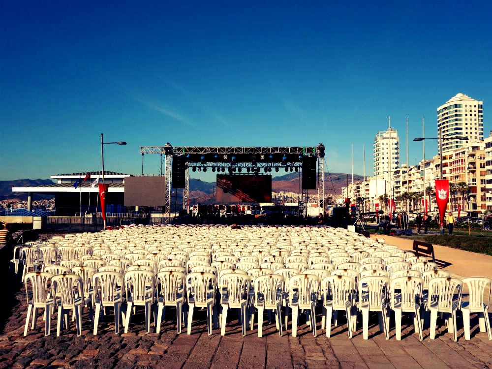 Konzertbühne am Kordon, İzmir 2016