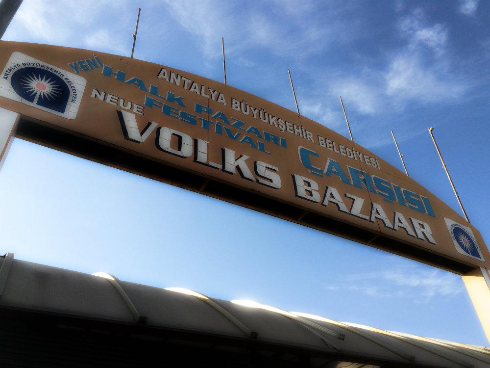Neue Volks Bazaar, Antalya 2016