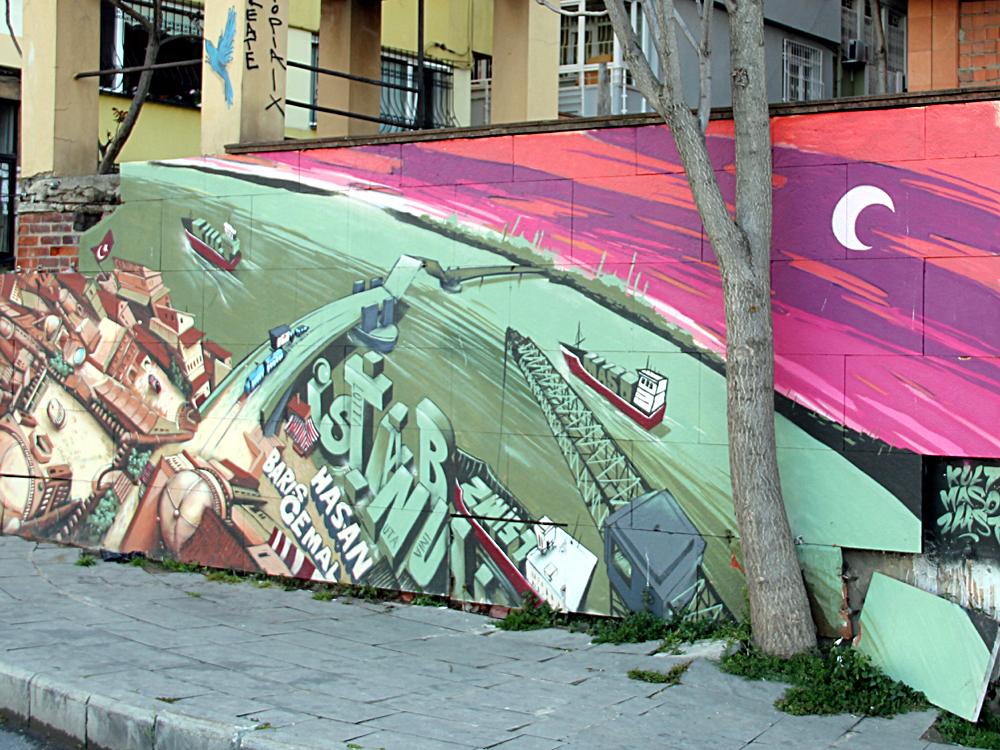 Graffiti In Istanbul, 2017