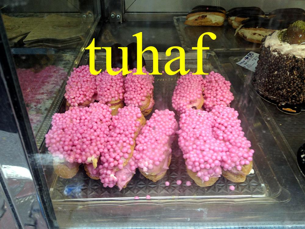 Foto: Bäckerauslage in Istanbul