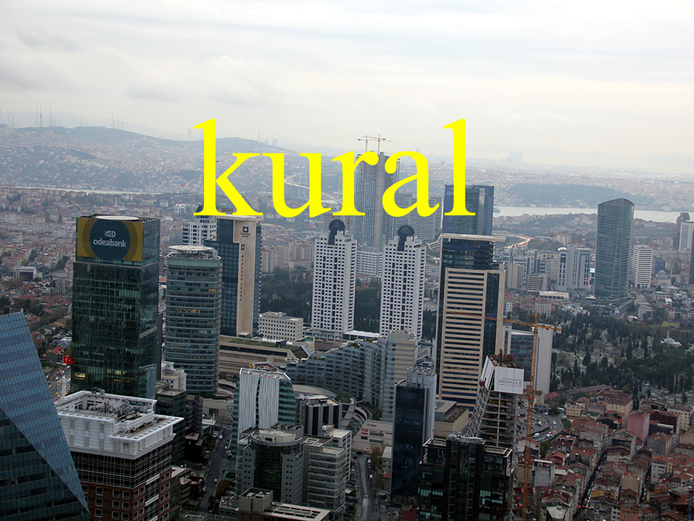 Foto: Istanbul von oben, İstanbul Sapphire, Istanbul