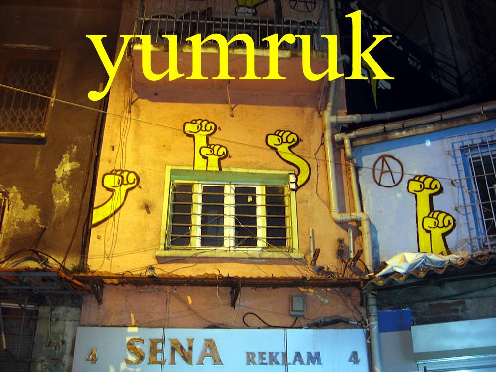 Foto: Graffiti in Galata, Istanbul
