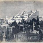 Hans Poelzig: Haus der Freundschaft Istanbul, Entwurf 1917, Technische Universität Berlin, Architekturmuseum