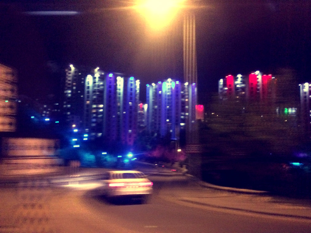 Hochhaussiedlung, Ankara 2017