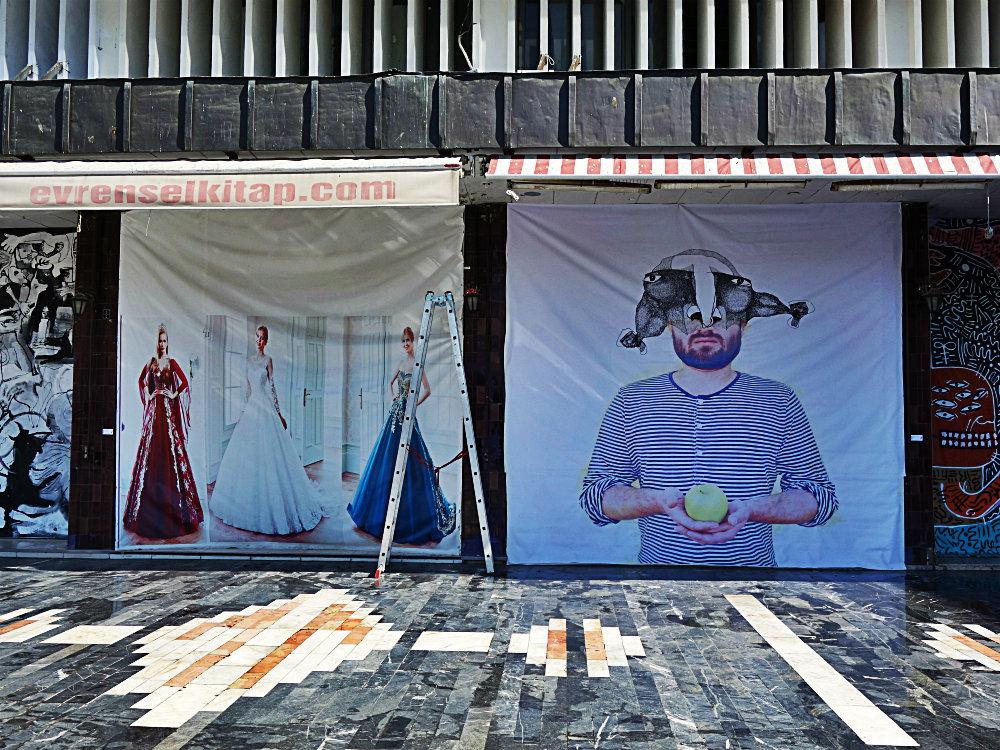 Nachher: Street Art in Ulus, Ankara 20417