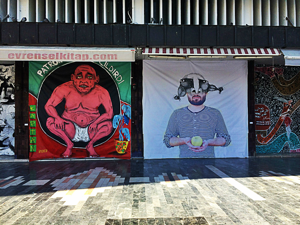 Vorher: Street Art in Ulus, Ankara 20417