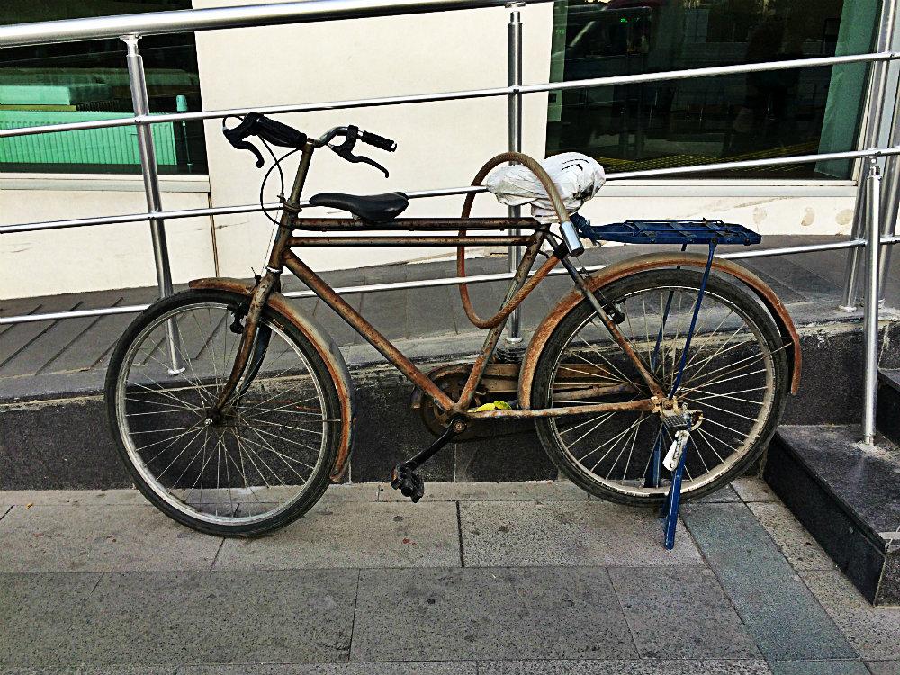 Fahrrad. Konya 2017