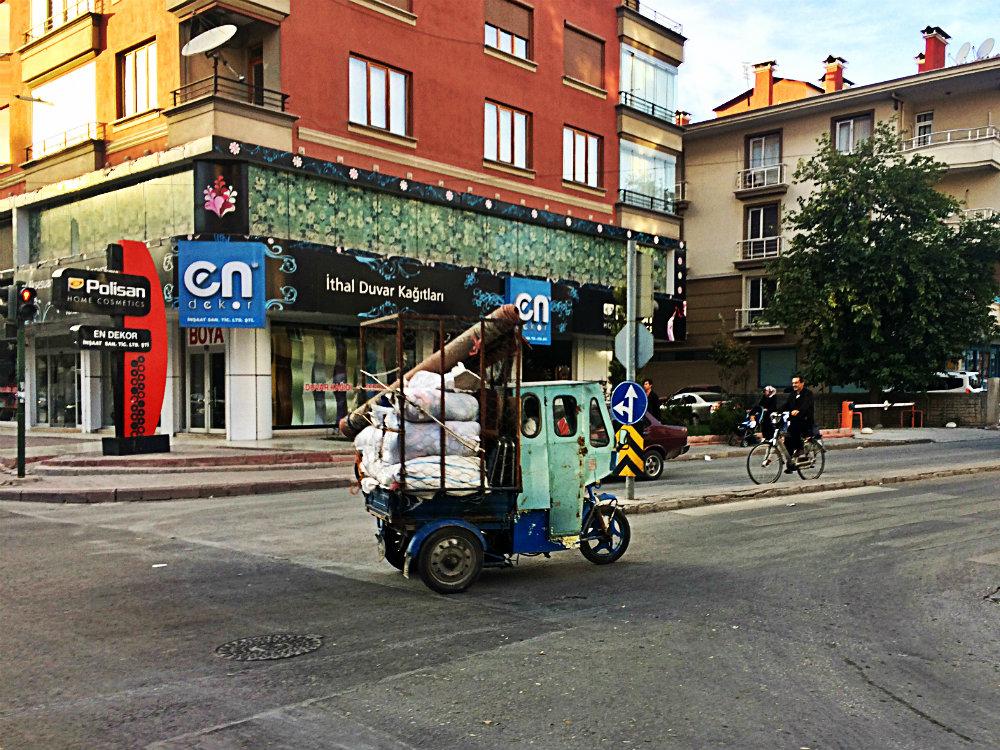 Transportmittel. Konya 2017