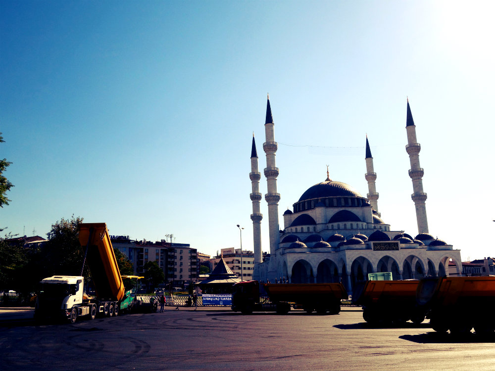 Ulusal Camii / Melike Hatun Camii, Ankara 2017