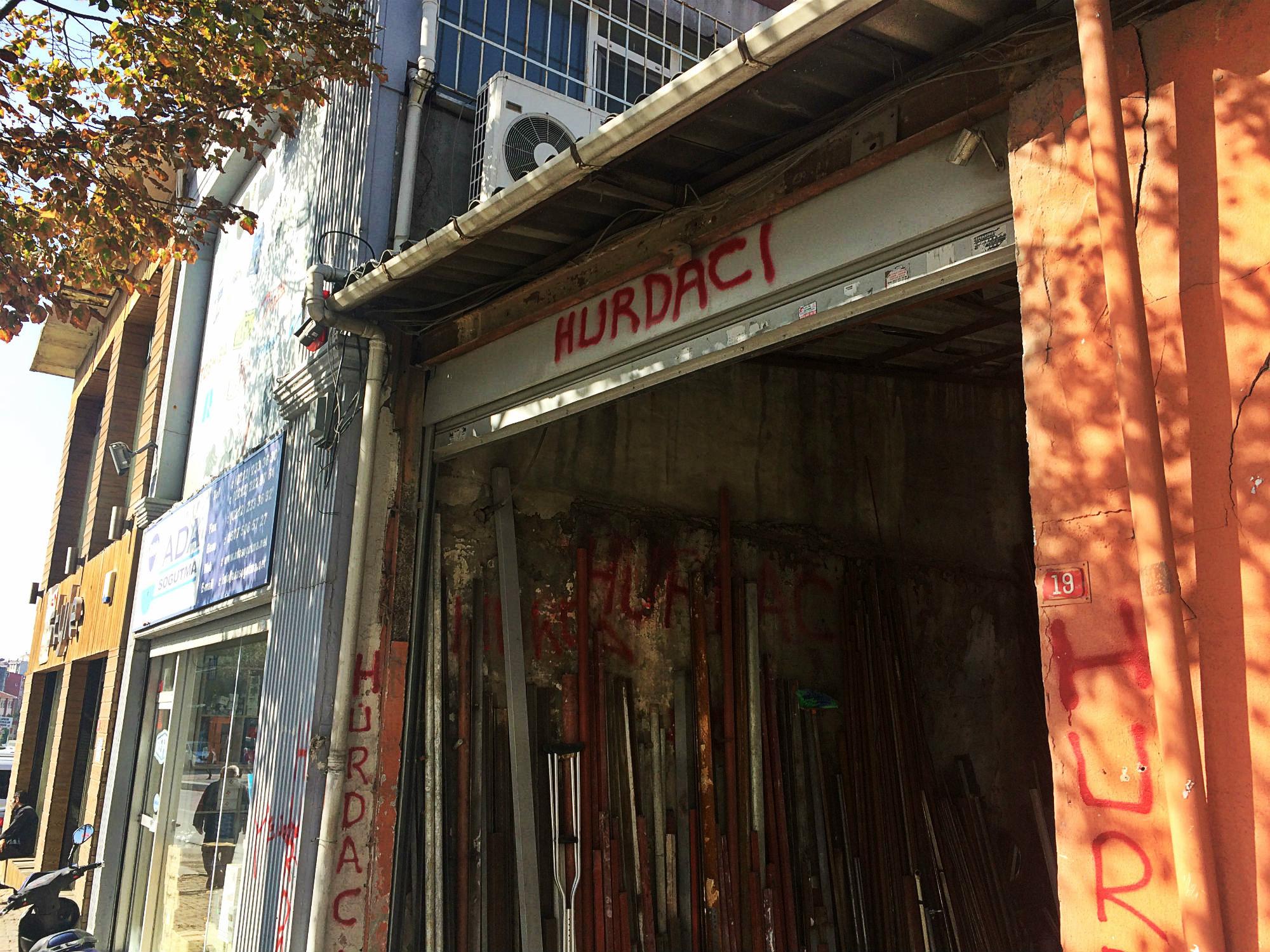 Hurdacı / Trödler, Alteisenhändler, Istanbul 2017
