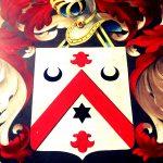 Halbmonde und Stern: Wappen in der Sint-Baafskathedraal, Gent 2018