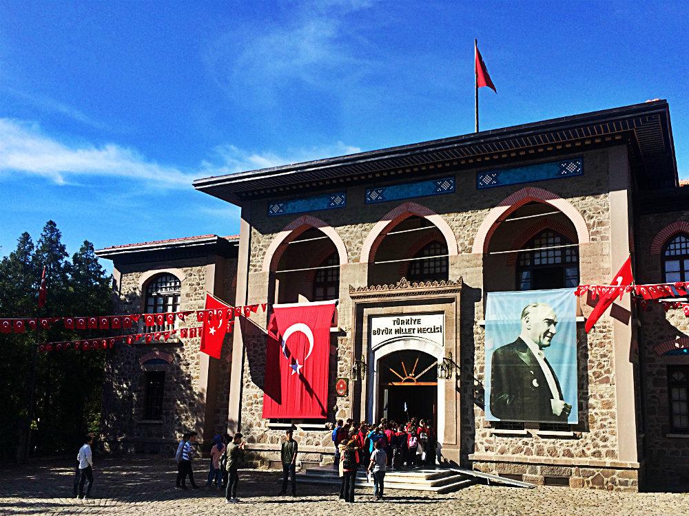 Gebäude der Großen Nationalversammlung (II. TBMM Binası), Ankara 2018q