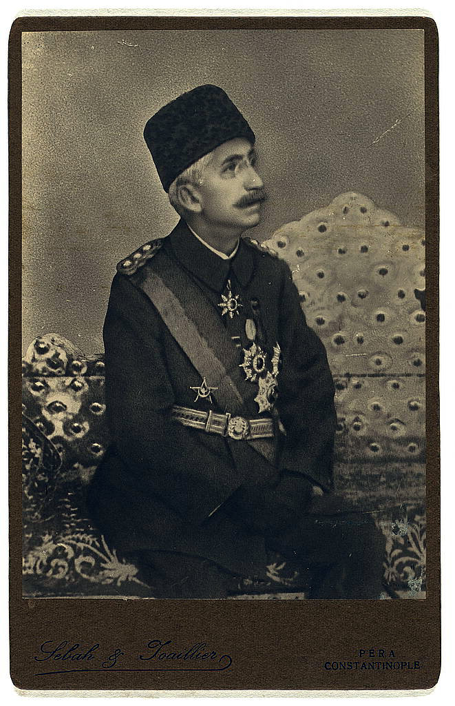Mehmed VI., um 1918, Library of Congress Prints and Photographs Division Washington, D.C. 20540 USA