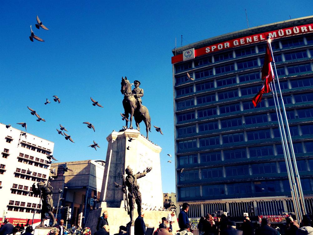 Zafer Anıtı, Siegesdenkmal, Ankara 2018