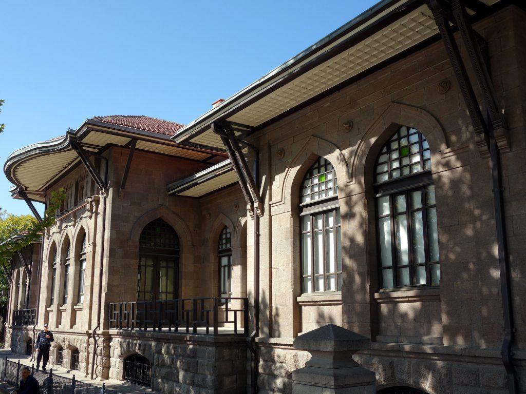 Erstes Gebäude der Großen Nationalversammlung der Türkei, Ankara 2018