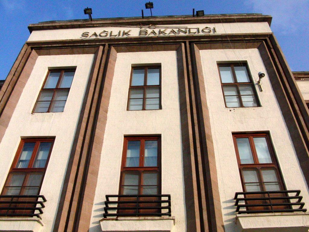 Sağlık Bakanlığı, Gesundheitsministerium von Theodor Jost (1926–27), Ankara 2014
