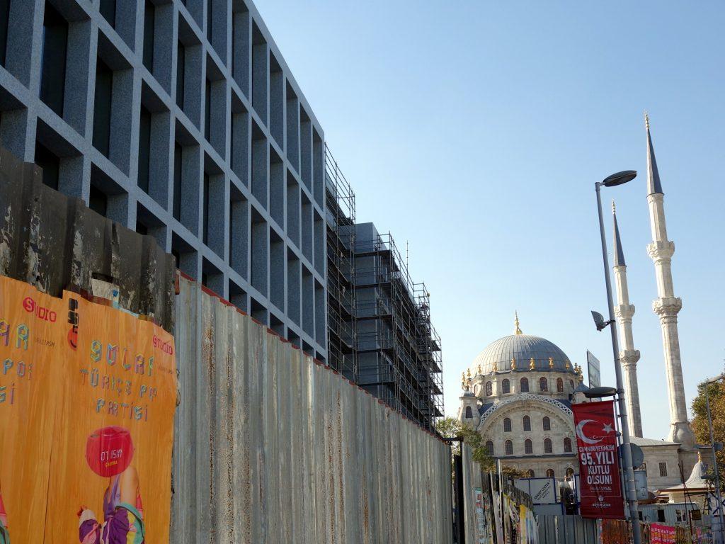 Bauen am Bosporus, Istanbul 2019