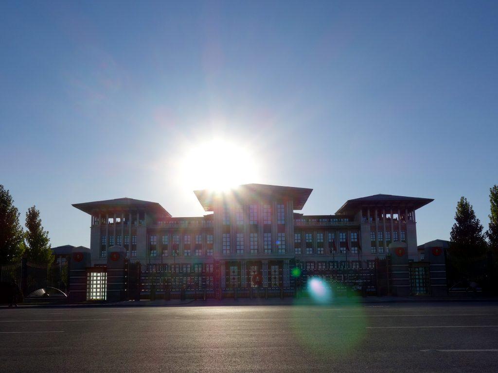 Cumhurbaşkanlığı Sarayı, Ankara 2014
