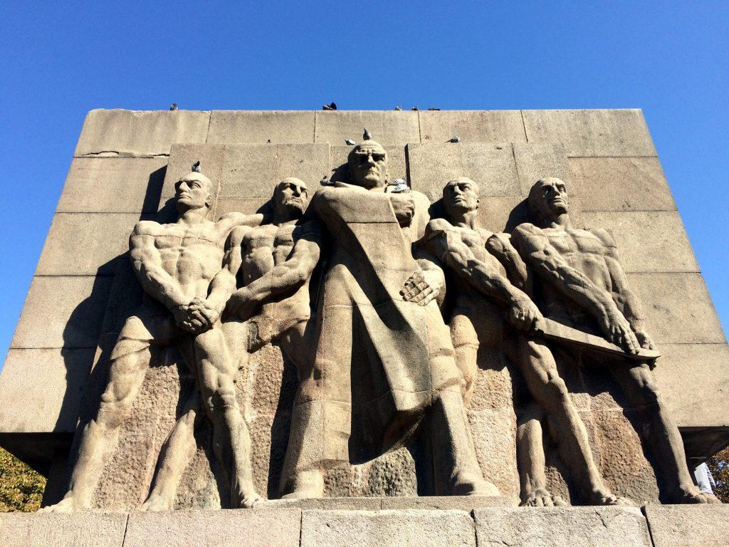Vertrauens- und Sicherheitsdenkmal, Relief von Josef Thorak, Ankara 1934/35